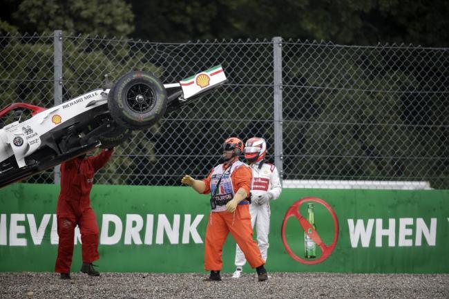 Formula Three driver Alex Peroni walks away from horror