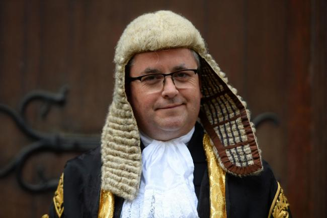 Robert Buckland in his Lord Chancellor's robes Picture: PA