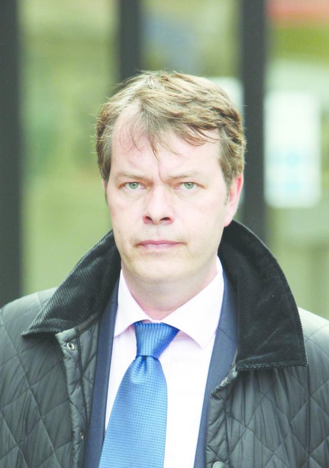File photo dated 01/04/11 of Detective Superintendent Steve Fulcher of Wiltshire Police who was criticised for breaching the rights of murderer Christopher Halliwell during the hunt for Sian O'Callaghan, has been suspended..