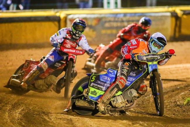 Peterborough Panthers 44 Swindon Robins 46; Monday, September 9, 2019; PICTURE: LES AUBREY