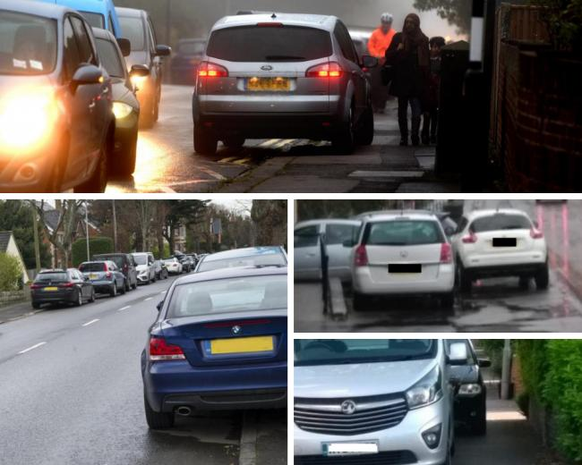 Bad parking in Swindon - send us your examples | Swindon