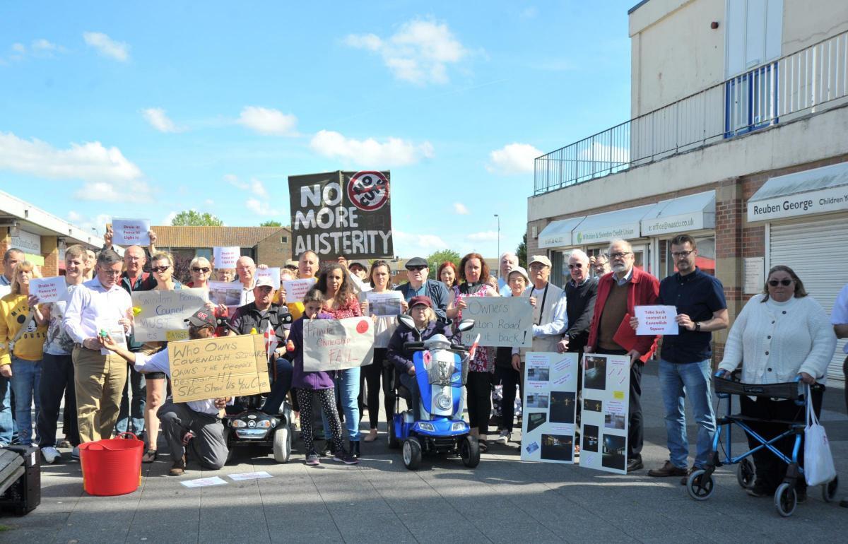 Future of Swindon's Cavendish Square on cabinet agenda
