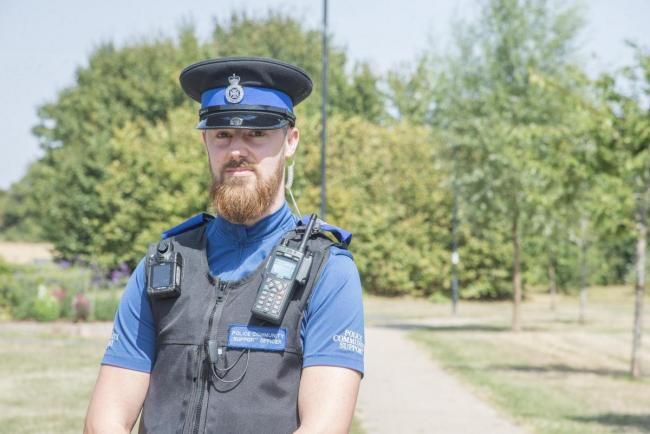 PCSO Thomas Fryszka spoke to Highworth councillors about antisocial behaviour reports
