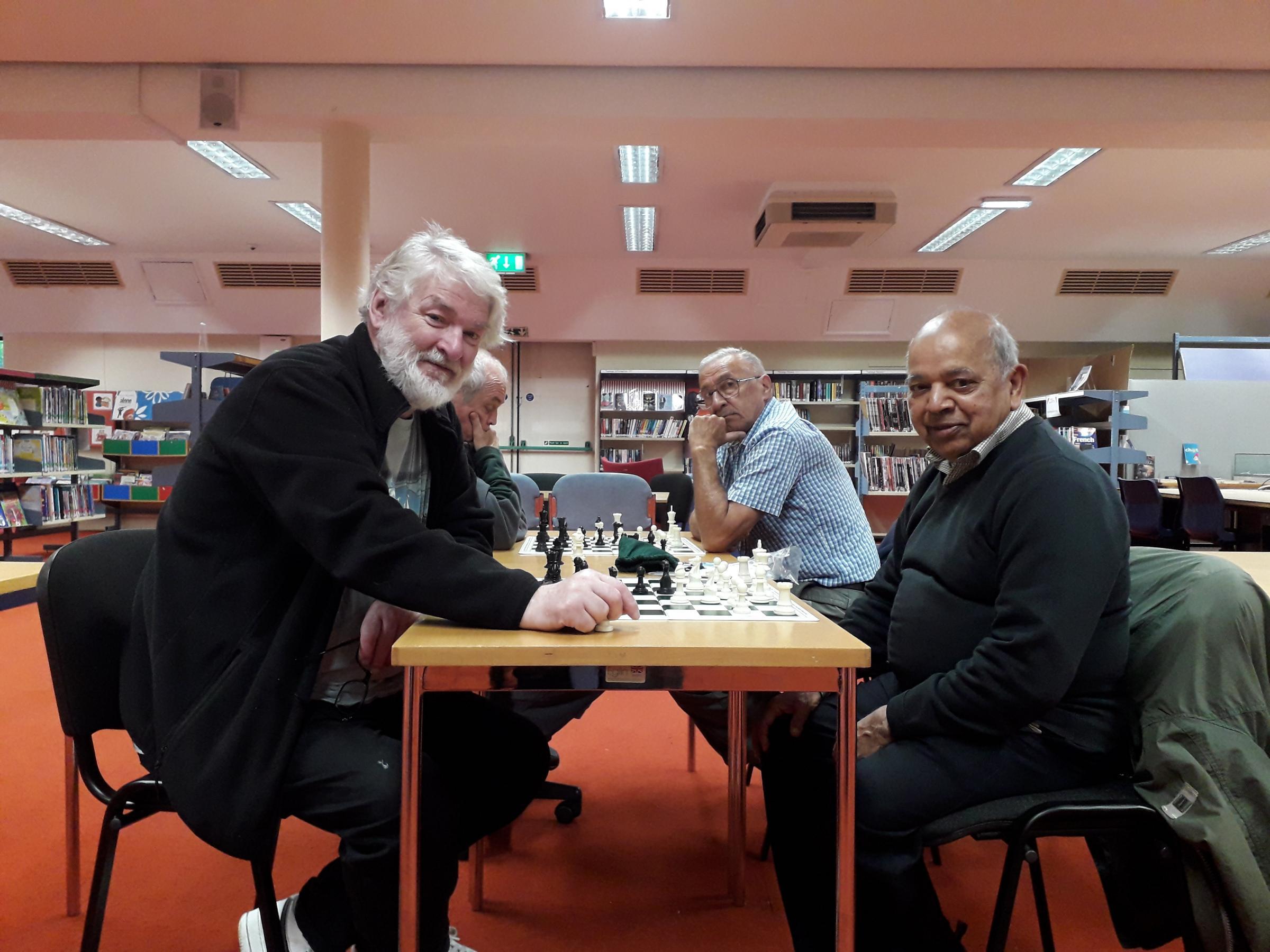BIG INTERVIEW: Peter Richmond and Ramnik Mehta of Swindon's Community Chess Club