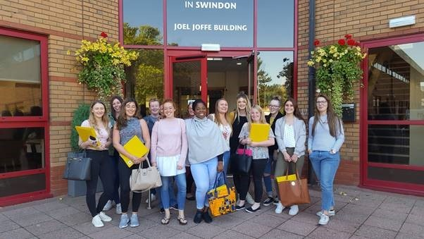 Group of nursing students are latest recruits to GWH's work force