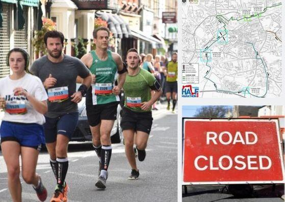 SWINDON HALF 2019: Road closures, parking, map and where to watch