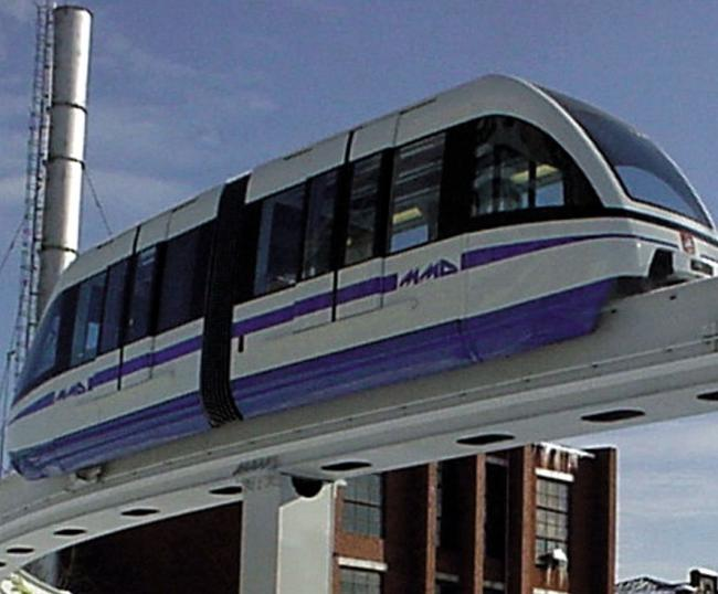 A monorail is part of Dr Laurie Marsh's plan for Swindon