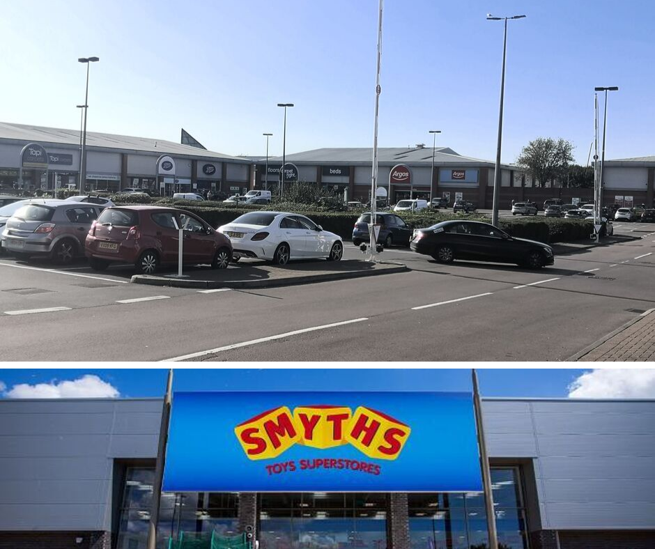 What should be opened at Swindon's Greenbridge Retail Park?