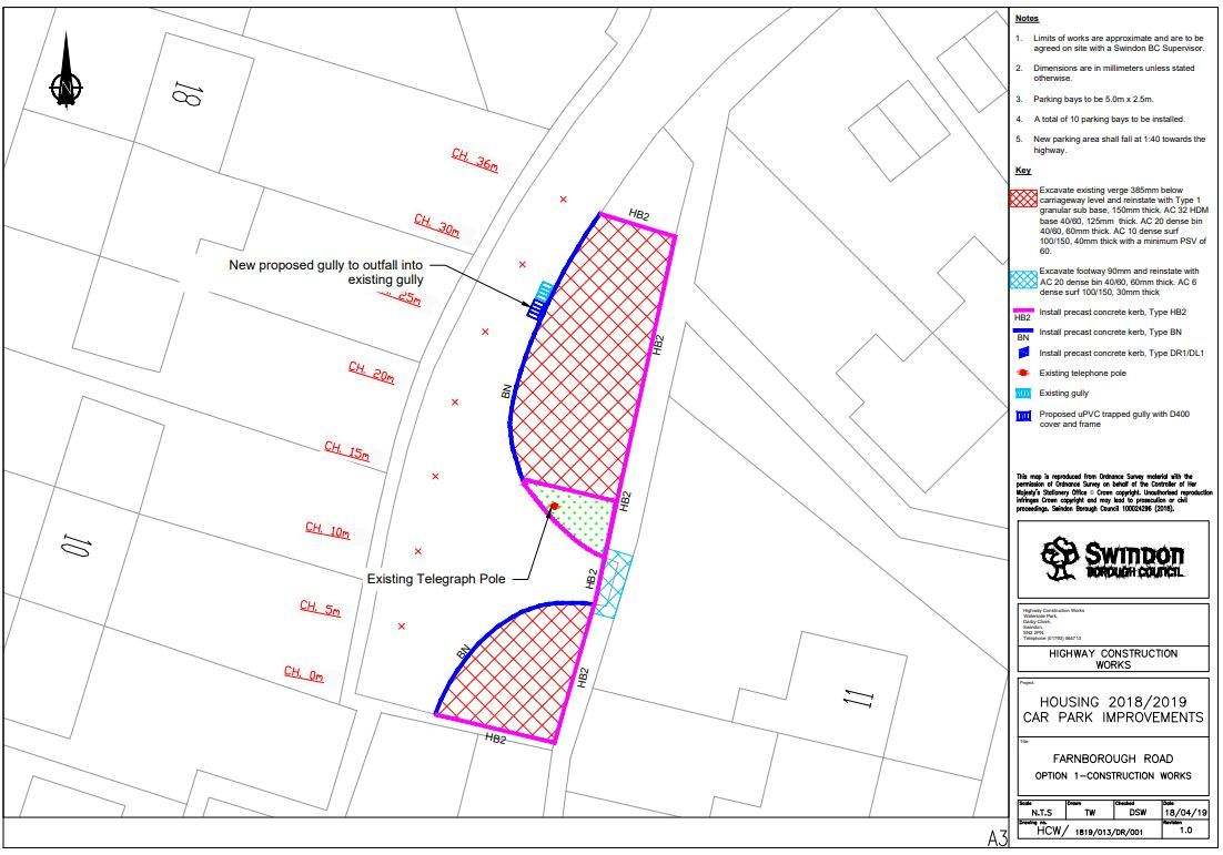 Councils clash over cost of 10 new spaces in Farnborough Road