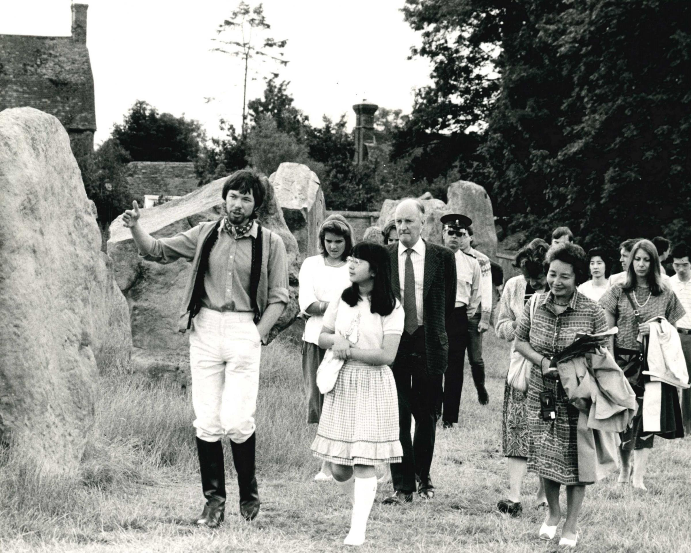 The day a young Japanese princess came to see the Avebury stones