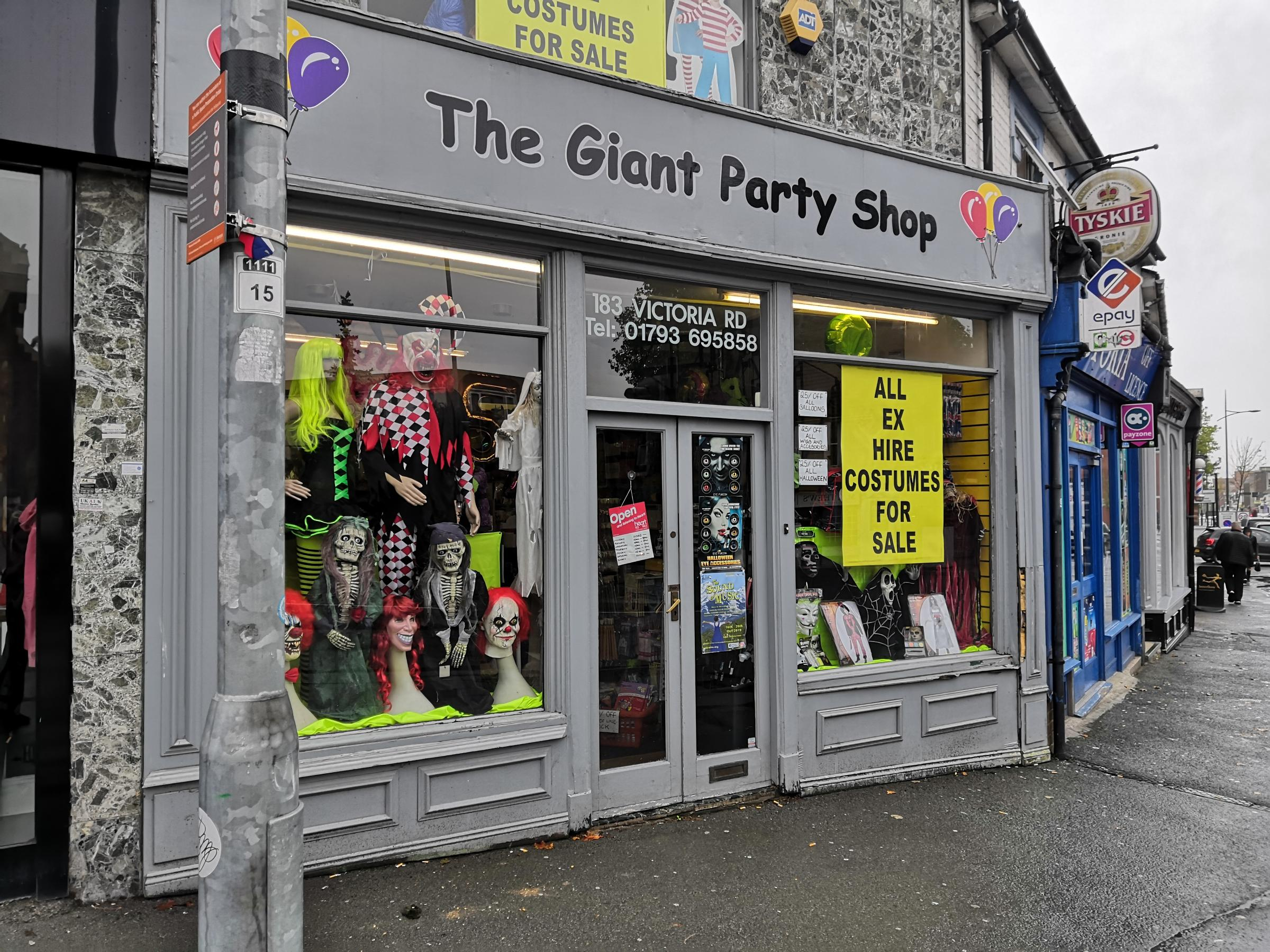 Giant Party Shop to close doors after 20 years in Swindon
