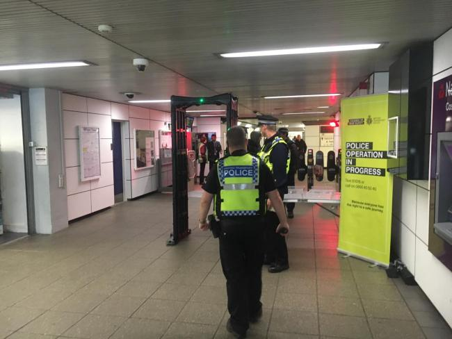BTP at Swindon railway station