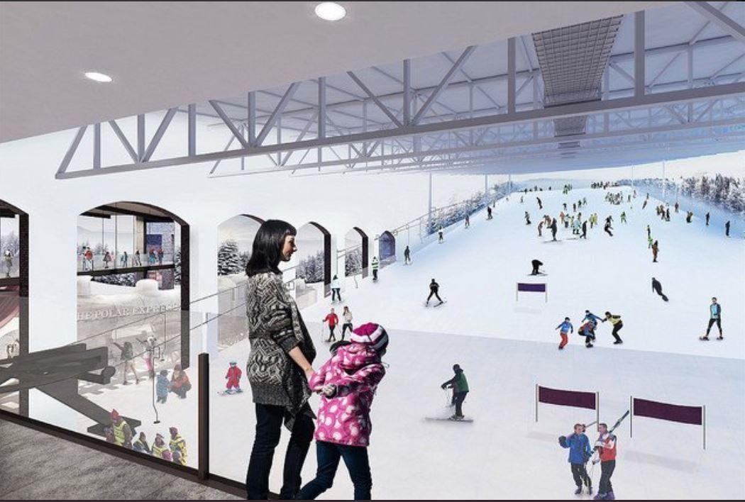 Lack of cash delays Swindon's £270m snow centre