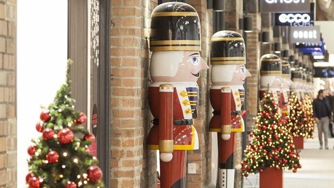 Christmas begins at Swindon's McArthurGlen Designer Outlet