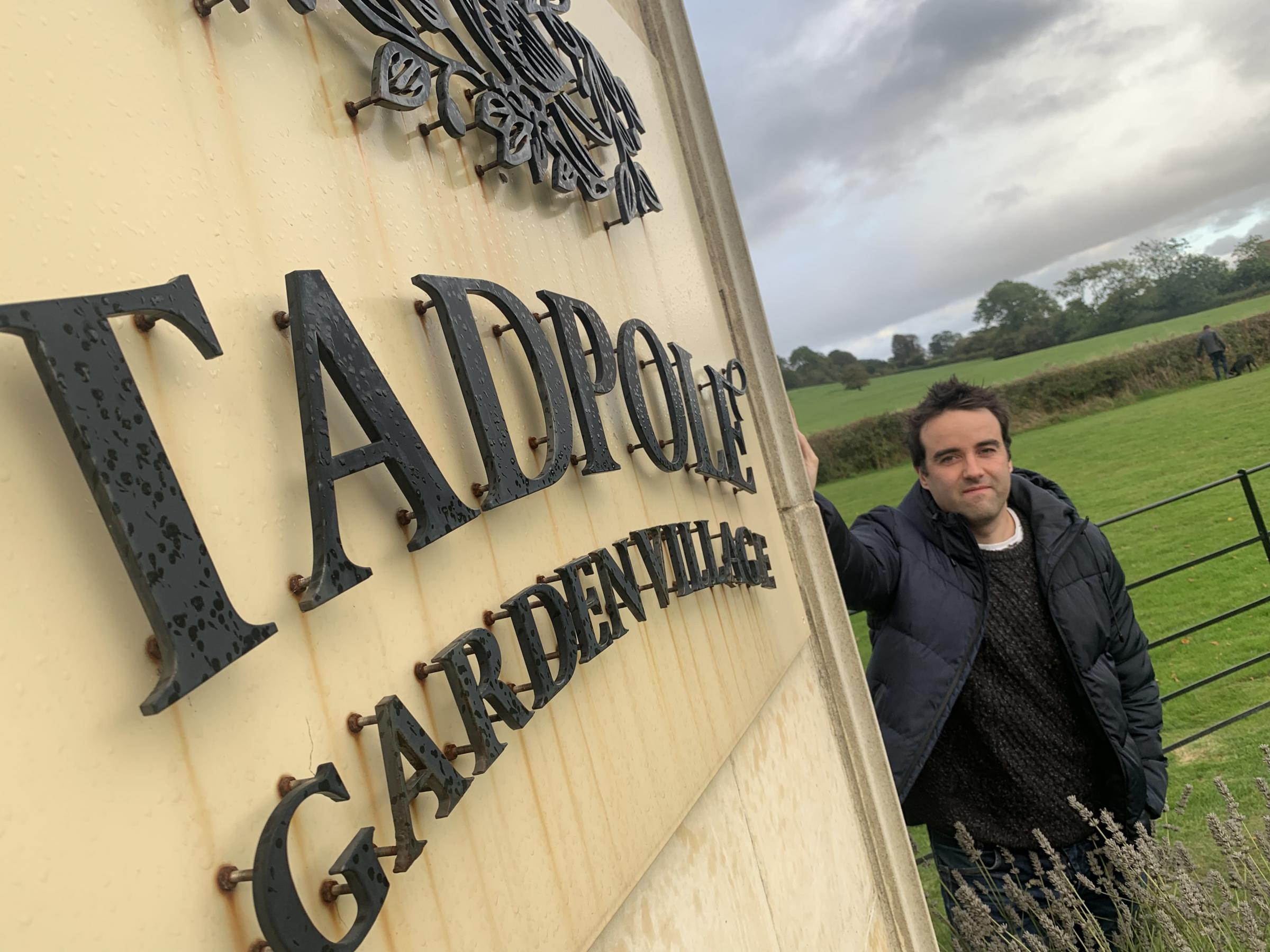 Neighbours enter Tadpole Garden Village in nationwide gardening competition