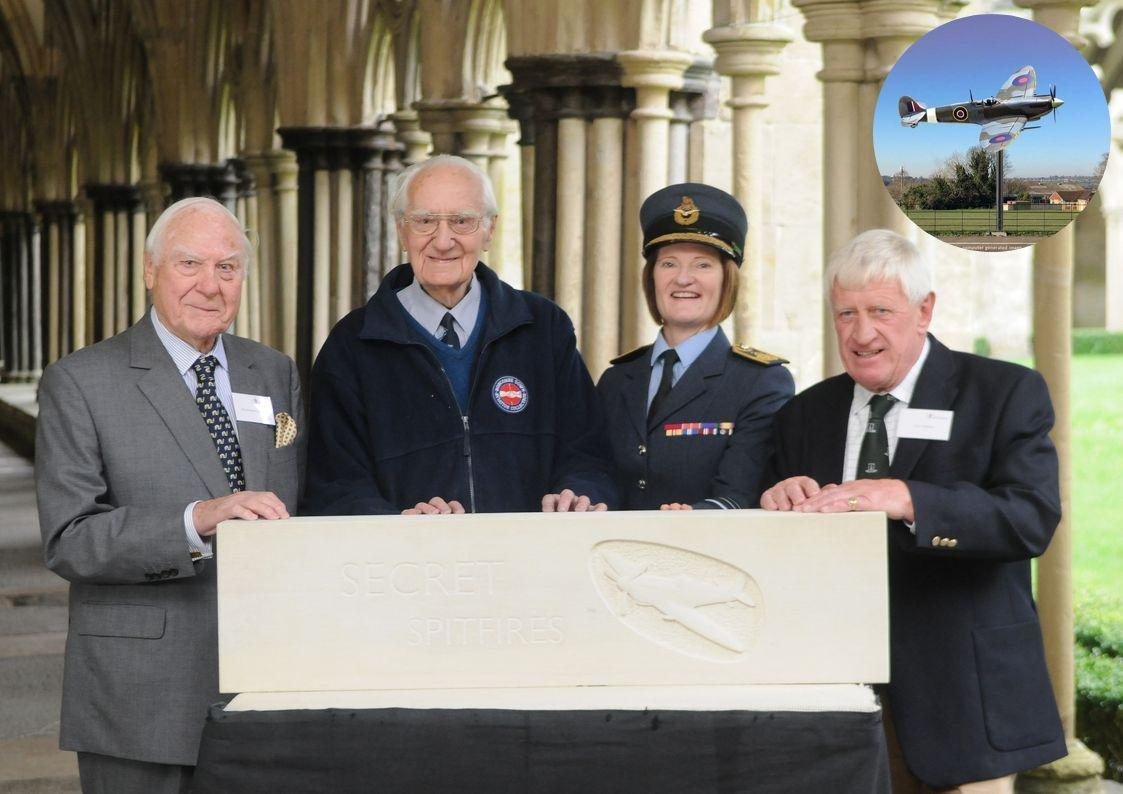 Replica Spitfire to fly in city which, like Trowbridge, helped build wartime fighters