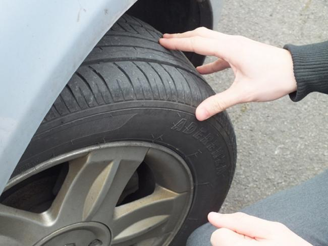 The council's campaign coincides with 'National Tyre Safety Month'