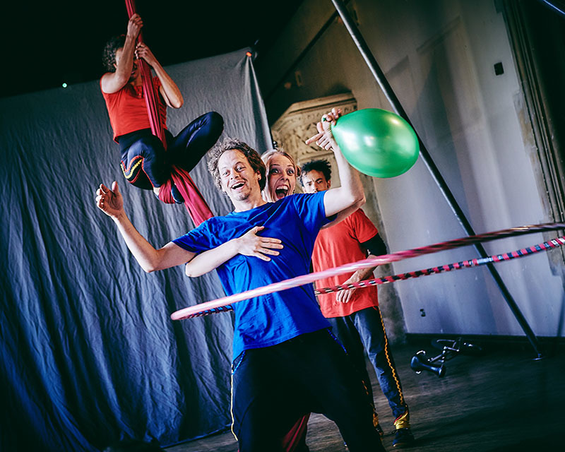 Circus performers launch sex education project in Swindon