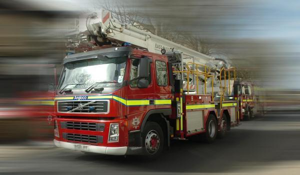 Kitchen fire blocks Moredon Road