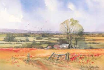 Art group shines a spotlight in Wiltshire painter Andy le Poidevin