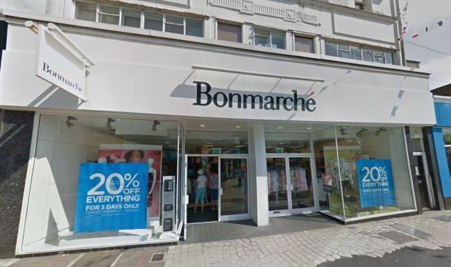 Jobs at risk after collapse of high street chain Bonmarche