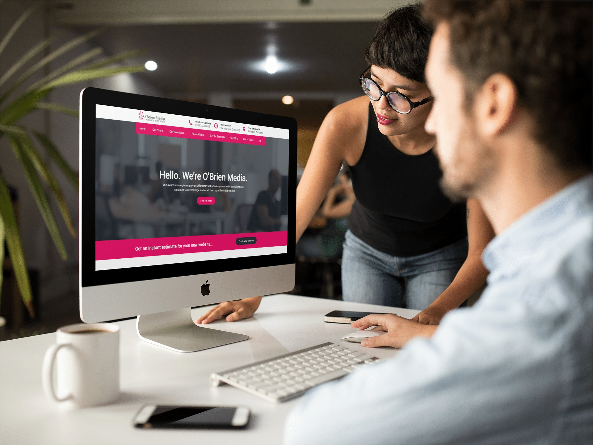Swindon web design company O'Brien Media is Living Wage employer