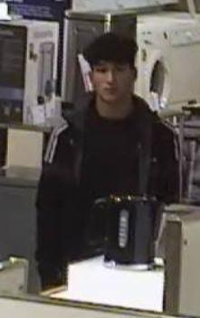 Man wanted in connection with John Lewis headphones theft