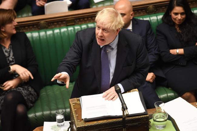Hammer blow Commons defeat for Boris Johnson's Brexit plans