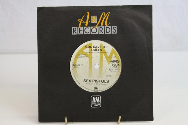 One of the world's rarest records - God Save the Queen by The Sex Pistols