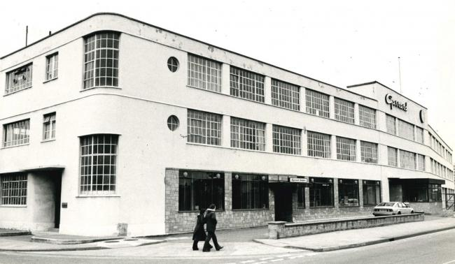 Garrard's main Swindon plant faced on to Fleming Way and extended along Newcastle Street