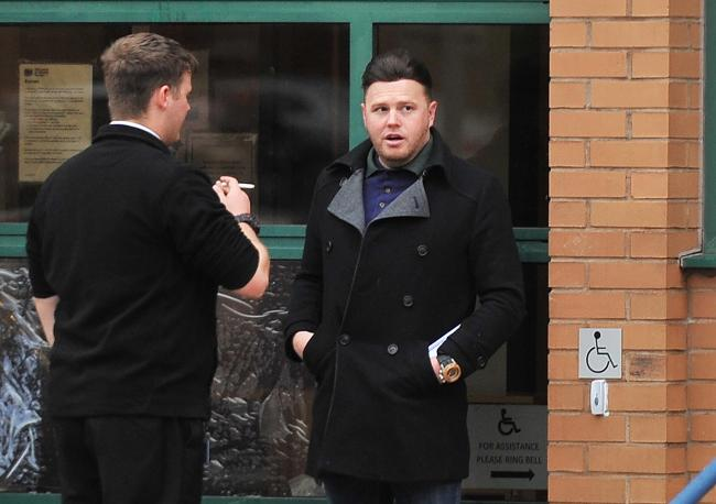 Jason Ranford at Magistrates Court..Pic - Jason Ranford - right .Date 6/11/19.Pic by Adver photographer.