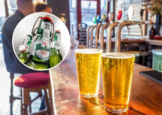 Grolsch will no longer be sold in the UK