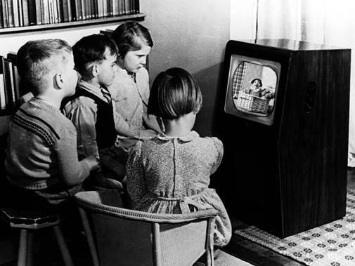 Black and white television sets are still used by 14 people in Swindon