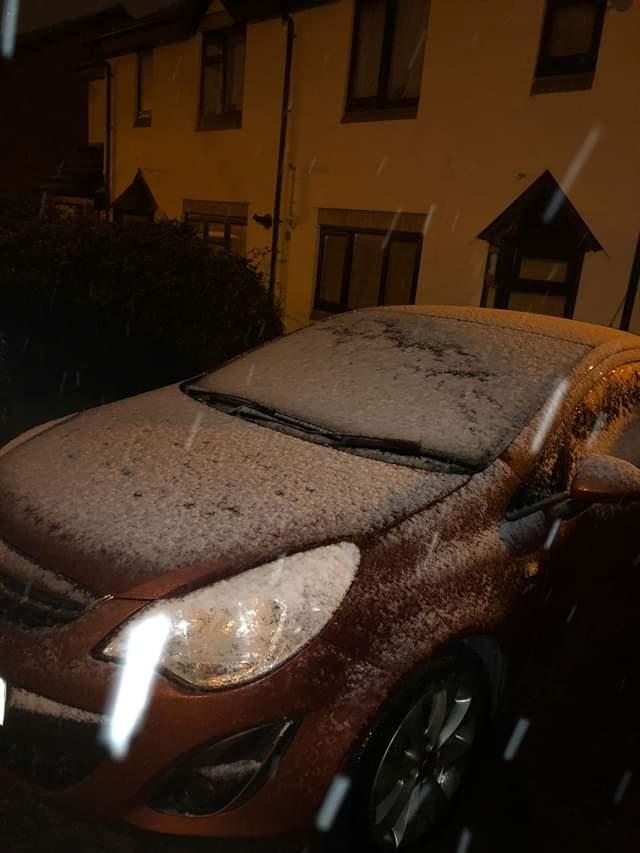 Snow falls over Swindon - send us  your pics! Picture: Moe Keohane
