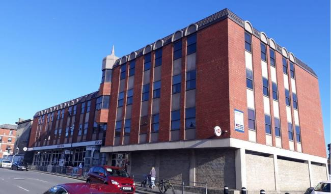 The Forum in Marlborough Road could be converted into 20 flats