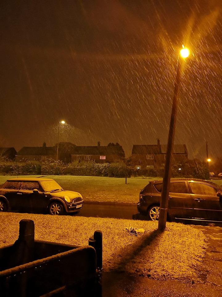 YOUR PICS: Snapshots of snowfall over Swindon