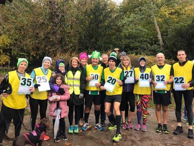 Striders at Lydiard Park