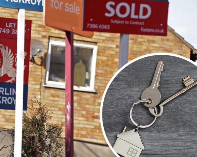House prices in Swindon dropped in July