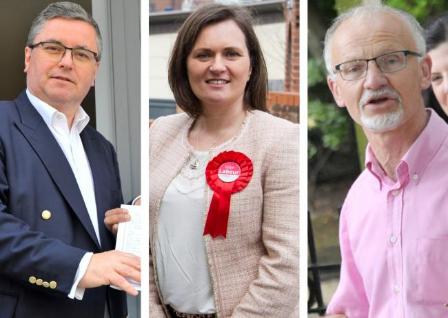Robert Buckland, Sarah Church and Stan Pajak will contest the South Swindon seat on December 13