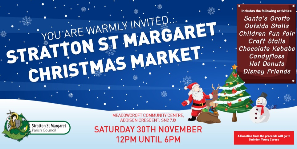 Stratton's Christmas Market coming this Saturday - featuring Santa, Disney characters and a funfair