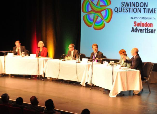 One of the hustings in Swindon at the 2015 election. The Adver and BBC Wiltshire have arranged a South Swindon event for Tuesday