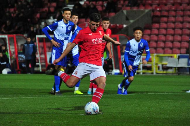 Swindon Town U18s 1 Bristol Rovers U18s 3. PHOTOS: Shaun Reynolds