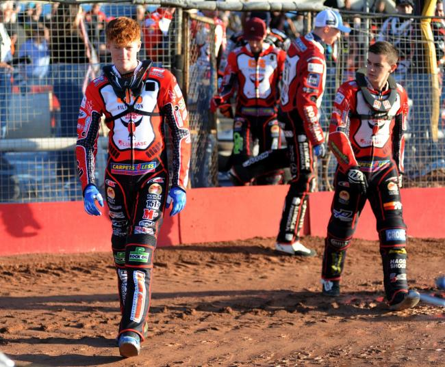 Anders Rowe has signed a deal to ride for Swindon Robins in the 2020 season