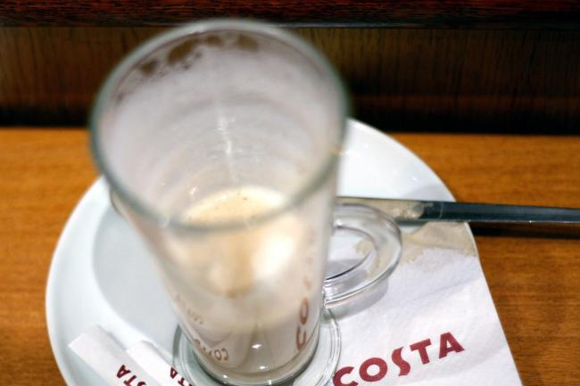 A Costa coffee