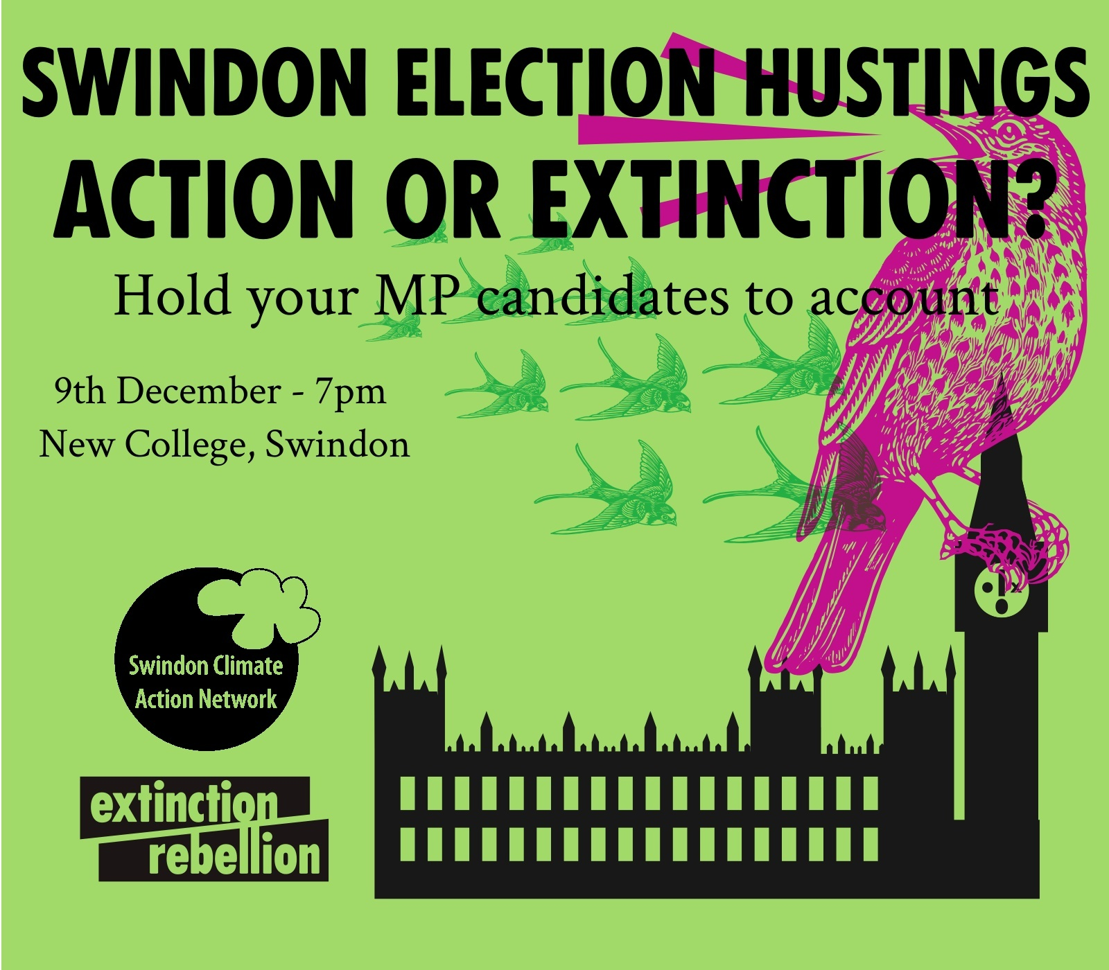 Candidates to be grilled on climate crisis at New College hustings