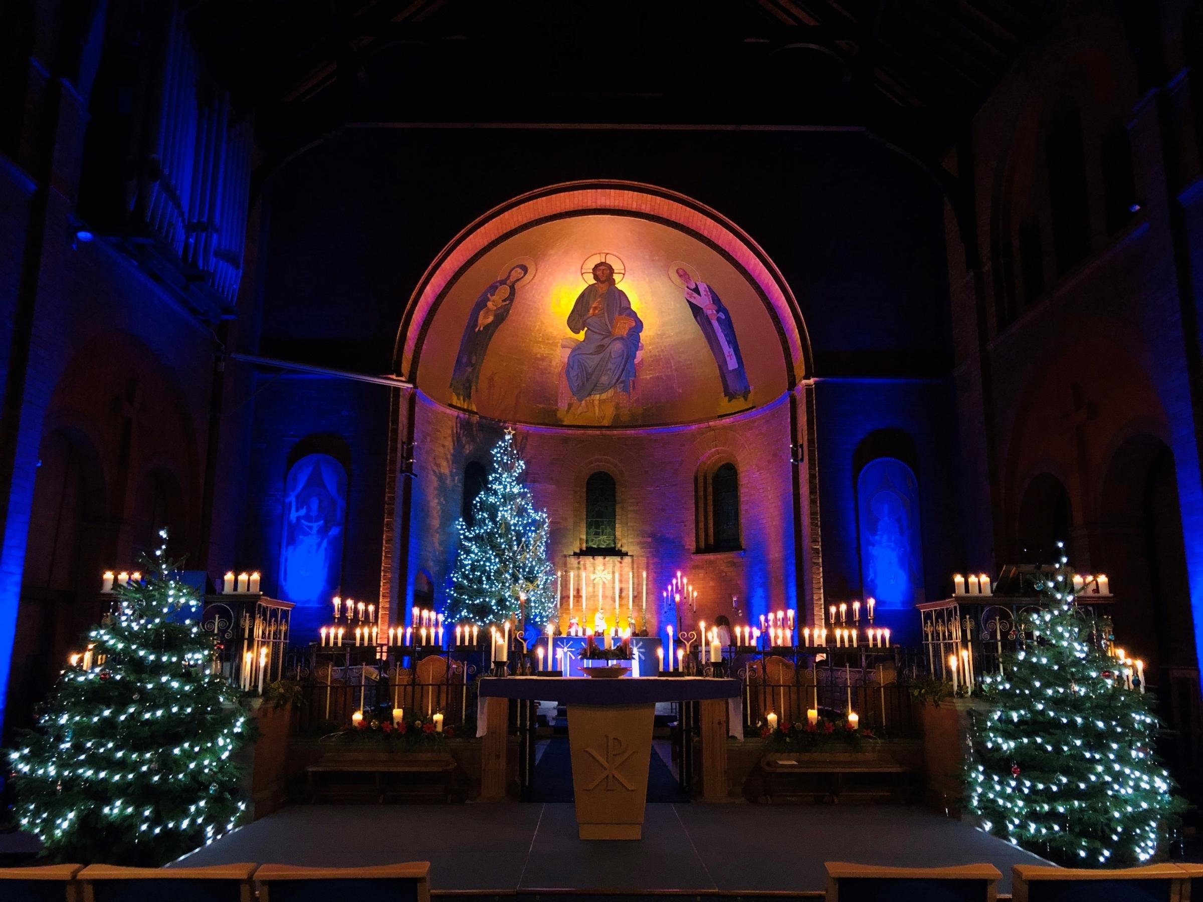 St Augustine's holds first community Christmas tree festival