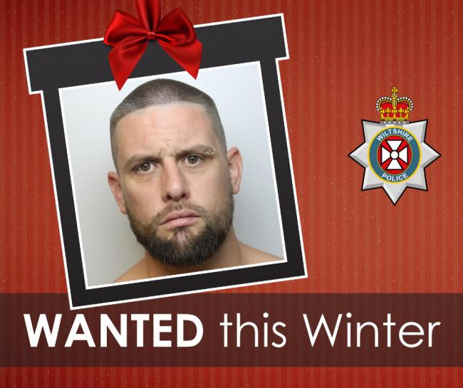 Ashley McGregor, 34, is wanted by Wiltshire Police