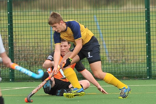 Hockey, Swindon A v Mendip, at The Deanery Academy, Peglars..Pic - Swindon below.Date 7/12/19.Pic by Dave Cox..