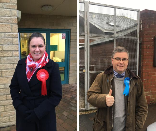 Swindon candidates cast their votes