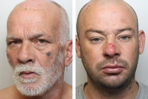 Jail for pair who attacked man in Swindon park